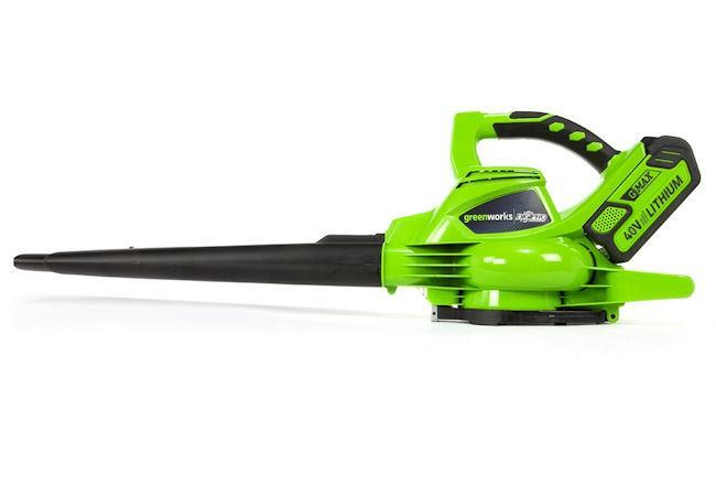 Greenworks Cordless Brushless Garden Leaf Blower Vacuum