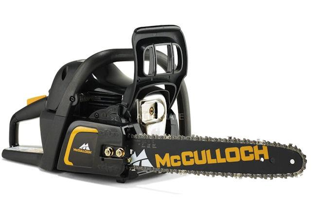 mcculloch cs42s petrol chainsaw 16in 42cc mcculloch chainsaws mower magic. Black Bedroom Furniture Sets. Home Design Ideas
