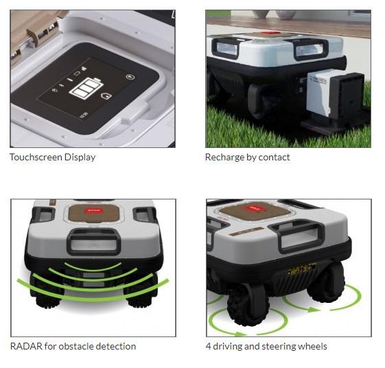 Ambrogio Quad Elite Robotic Lawnmower from Mower Magic