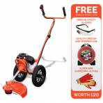 Sherpa Deluxe 52cc Petrol Wheeled Trimmer (Jungle Buster)