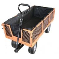 Sherpa Large Utility Garden Cart v2  (+Free Liner worth �19.99) with Puncture Proof Tyres