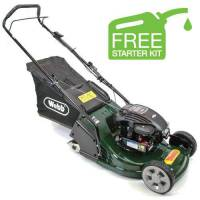 Webb Supreme Petrol Roller Lawnmower 43cm / Push RR17P